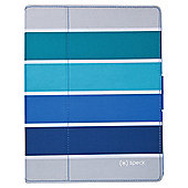 Speck Arctic Blue Stripes iPad Case