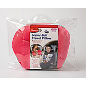 Clippasafe Secure Belt Travel Pillow Pink 3-8 Years