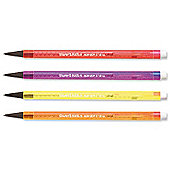Paper Mate Non-Stop Automatic Pencil HB Lead Assorted Neon Barrels RefS0187204[Pack 12]