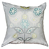 Dreams n Drapes Teal Montague Cushion Cover - 43x43cm