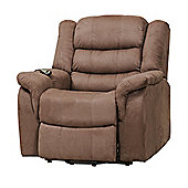 Sofa Collection Limoux Riser Recliner with Massage and Heat Function - Mocha