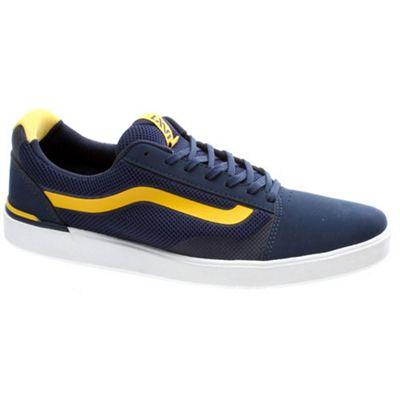 Vans LXVI Locus Navy/Yellow Shoe UAQYY0