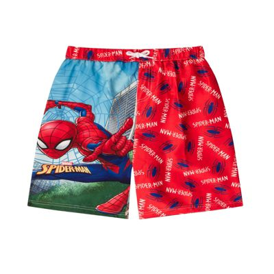 Marvel Comics Spiderman Boys Swim Shorts 3-4 Years