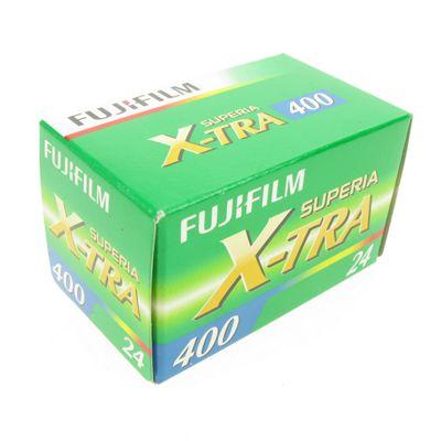 Fujicolor Film - Superia X-tra 400 24 Exposures 135