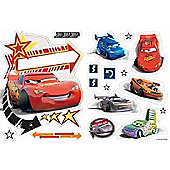 Disney Cars Door Name Sticker