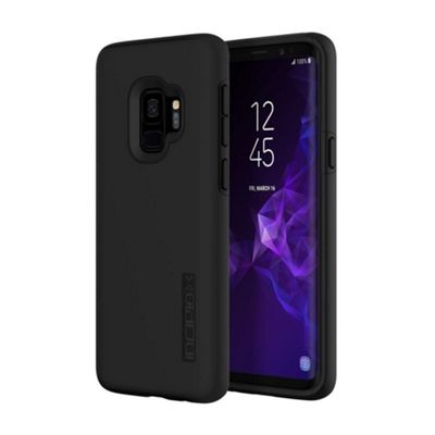 Incipio DualPro Dual Layered Protective Case For Samsung Galaxy S9 - Black