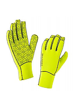 SealSkinz Neoprene Gloves - Black & Yellow
