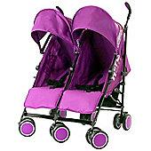 Zeta CiTi Twin Stroller (Plum)
