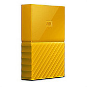 Western Digital My Passport 2TB Micro-USB B 3.0 (3.1 Gen 1) 2000GB Yellow