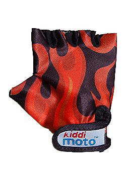 Kiddimoto Gloves Flames (Medium)