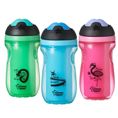 Tommee Tippee Active Insulated Sippee Cup-260ml Capacity│Easy­Grip Sides│12m+