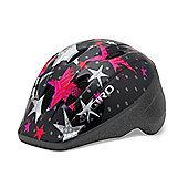 Giro Me2 Kids Helmet Black/Pink Stars