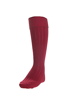 Precision Training Plain Football Socks - Purple