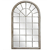 Bentley Garden Single Arch Grey Mirror