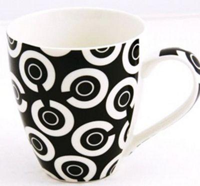 Sabichi Checkers Mug (Set of 4)