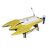 Joysway Offshore Sea Drifter RTR RC Boat - Yellow 2.4GHz