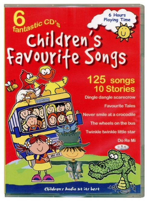 Children's Favourite Songs (6CD)
