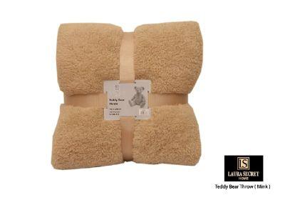 Teddy Bear Throw - Mink 150x200cm
