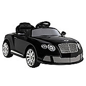 Bentley Continental Gtc By Zaap Ride-On Electric Kids Car Black