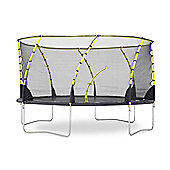 Plum 14ft Whirlwind Trampoline and 3G Enclosure