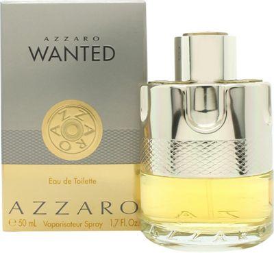 Azzaro Wanted Eau de Toilette (EDT) 50ml Spray For Men