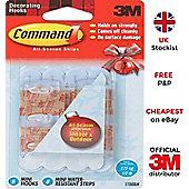 3M Command Waterproof Mini hooks damage free 17006H