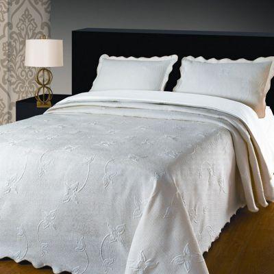 Julia Cream Bedspread, Single