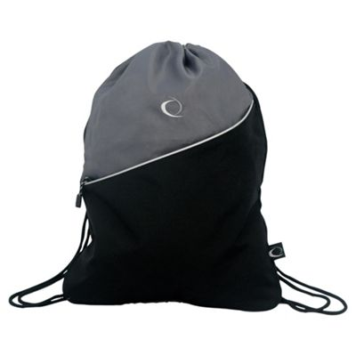 Gym Bag, Black & Grey