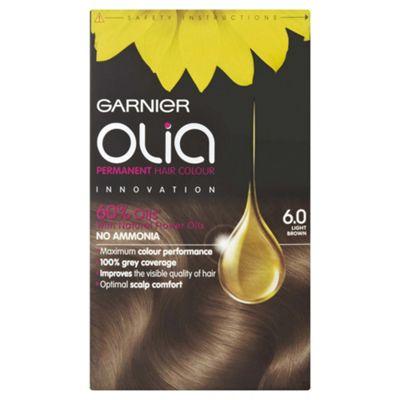 Buy Garnier Olia Permanent Hair Colour Olia 6 0 Light