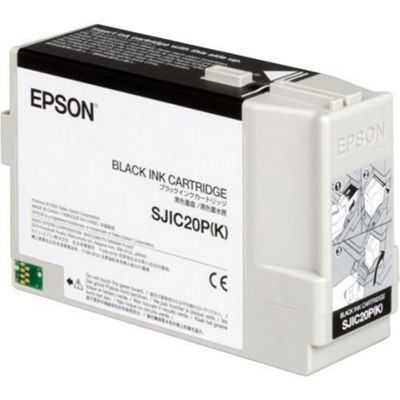 Epson SJIC20P(K) - Black Ink Cartridge C33S020490