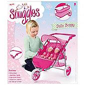 Toyrific Snuggles Twin 2 Doll Buggy