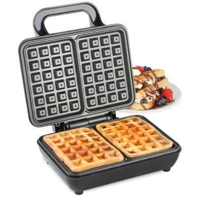 VonShef 1000W Dual Belgian Waffle Maker