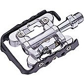 Acor Alloy Dual Purpose Pedals. SPD Compatible, With Cleats