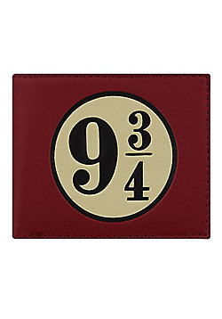 Harry Potter Platform 9 3/4 Boxed Red Wallet 15.5x13x2cm