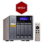 QNAP TS-453A-8G/12TB-RED 4-Bay 12TB(4x3TB WD RED) Network Attached Storage
