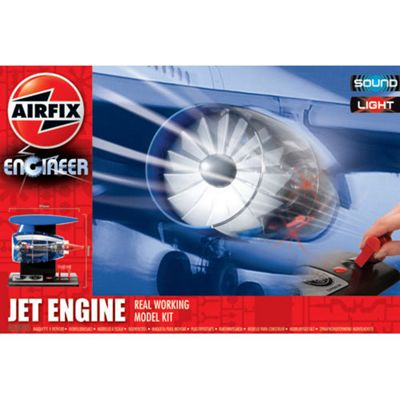 Airfix A20005 Engineer Jet Engine Light Sound Working Model Kit