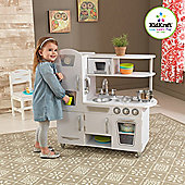 Vintage White Pretend Play Kitchen