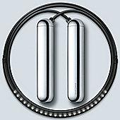 Tangram Smart Fitness Rope│23 LEDs│Chargable│Calories Burner│Chrome-Extra Large