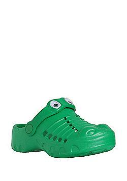F&F Crocodile Clogs - Green