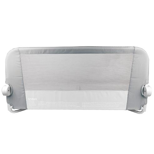 Lindam Safe and Secure Soft Folding Bed Rail Natural