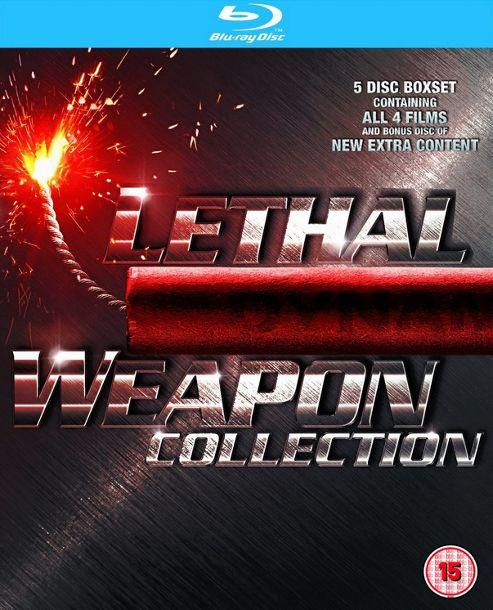 Lethal Weapon 1-4 (Blu-ray Boxset)