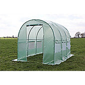 Palm Springs 3M X 2M Polytunnel Greenhouse-25Mm Super Strong Anti-Rust Frame