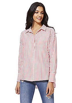 F&F Striped Shirt - Red