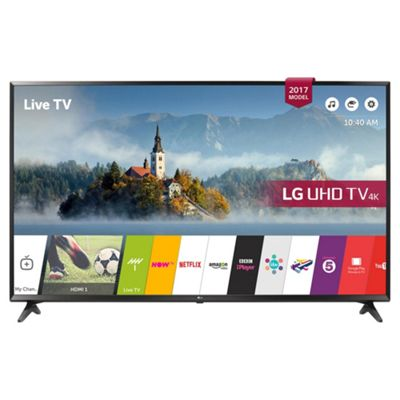 LG 49UJ630V 49 Inch 4K Ultra HD HDR Smart LED TV with Freeview HD
