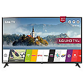 LG UJ630  Inch 4K Ultra HD Smart LED TV with Freeview Play - Black