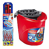 Vileda SuperMocio COMPACT 3 Action Mop & Bucket BUNDLE SET