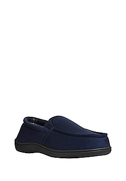 F&F Closed Back Slippers - Navy