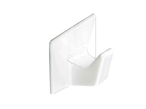 Securit S6351 Self Adh Cup Hooks White Small X4