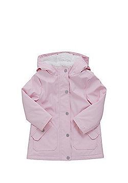 F&F Rubberised Mac - Pink
