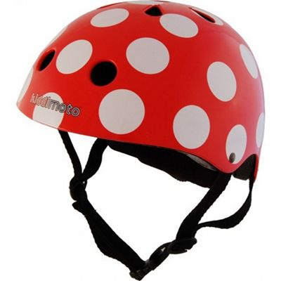 Kiddimoto Helmet Medium (Dotty Red)